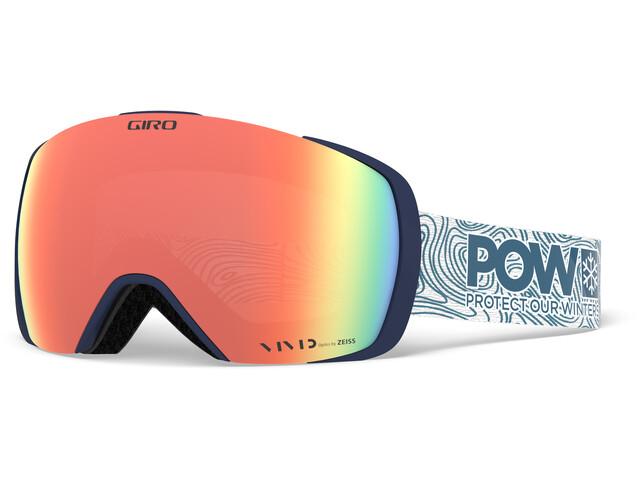 Giro Contact Gafas de Nieve Hombre, protect our winters w vivid royal/infrared